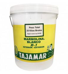 Tajamar Marmolina R-1 Blanco   Tineta
