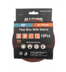 Harden Pack Lija Madera C/velcro Gr 40 (10u)
