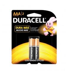 Pila Duracell Aaa X 2    Mn2400b2