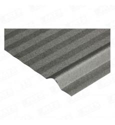 Plancha  Acanalada 5v Zinc Alum 0,35 X 3,0 Mts