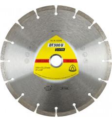 """Klingspor Disco Diamantado Seg. 4,5"""" Dt300u 325345"""