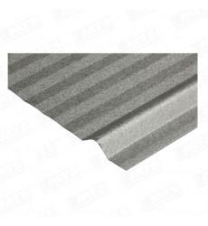 Plancha  Acanalada 5v Zinc Alum 0,35 X 2,5 Mts