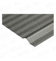 Plancha  Acanalada 5v Zinc Alum 0,35 X 3,5 Mts