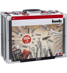 Kwb Caja Herramientas Aluminio 199 Pz 49375561