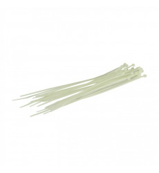 Amarra Cable 2,5mm  X 100 Mm Blanco  110