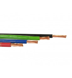 Cable Thhn 10 Awg   2,59mm  Negro