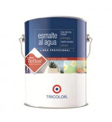 Tricolor Esmalte Al Agua Blanco 1gl