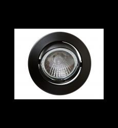 Byp Foco Embutido Negro Movil Gu10 50w