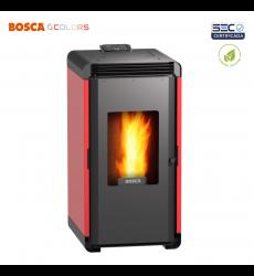 Bosca Calefactor Pellet Hera + Rojo