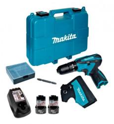 Makita Taladro-atornillador C/perc 108 V /12v Hp330dwe