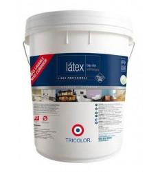 Tricolor Latex Profesional Blanco  Tin