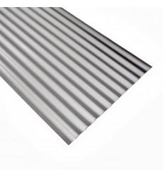 Plancha  Acanalada  Zinc Alum 0,35 X 2,50 Mts