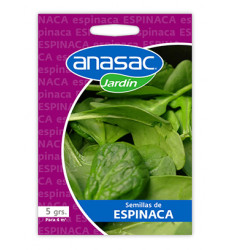 Anasac Semilla 5 Grs Espinacas 1500296
