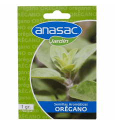 Anasac Semilla Oregano 1 Gr 1500311